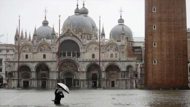 Венеция ушла под воду: пострадало 70% площади города