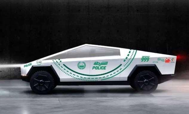 Полиция Дубая приобретёт Tesla Cybertruck от Илона Маска