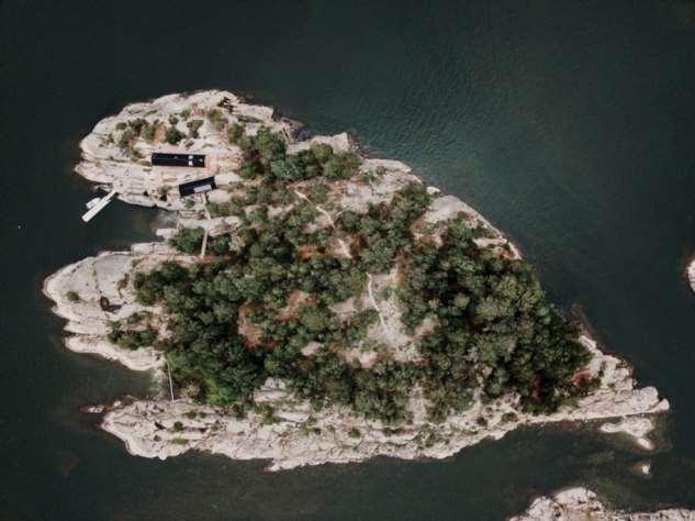 Коттедж на острове в Финляндии ❘ фото
