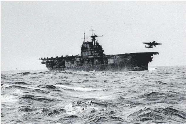 «Хорнет»: исследователи нашли затонувший знаменитый авианосец