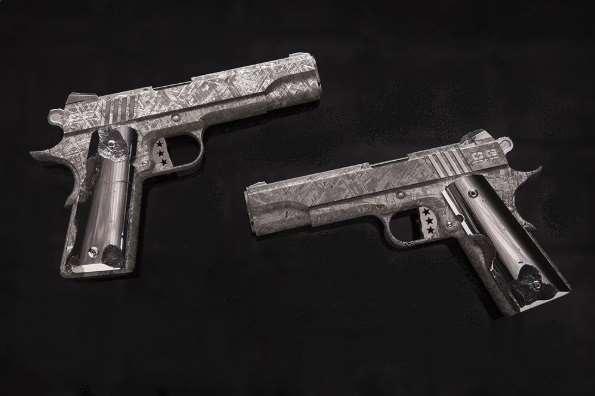 Зачем из метеоритного железа делают оружие