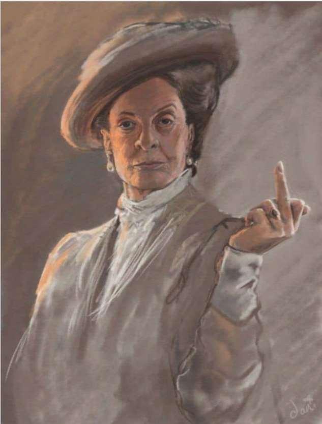 Средний палец и английский лук:  история одного жеста