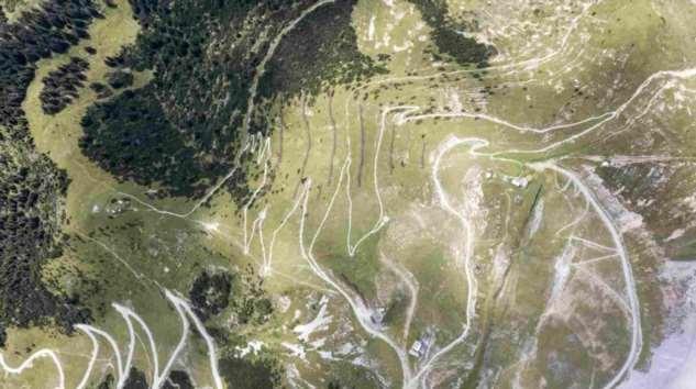 Смотровая в австрийских Альпах ❘ фото