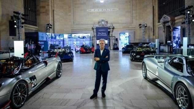 Pagani превратили вокзал Нью-Йорка в выставку суперкаров (14 фото)