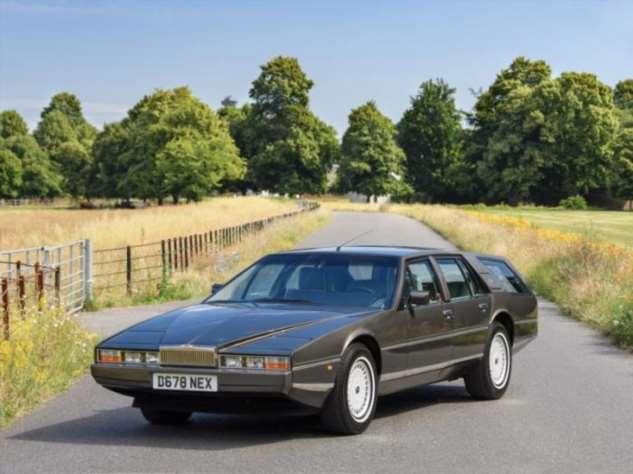 Отличный раритет Aston Martin Lagonda Shooting Brake 1987 года