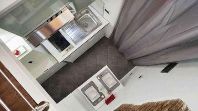 Квартира площадью 7 квадратных метров в Риме ❘ фото
