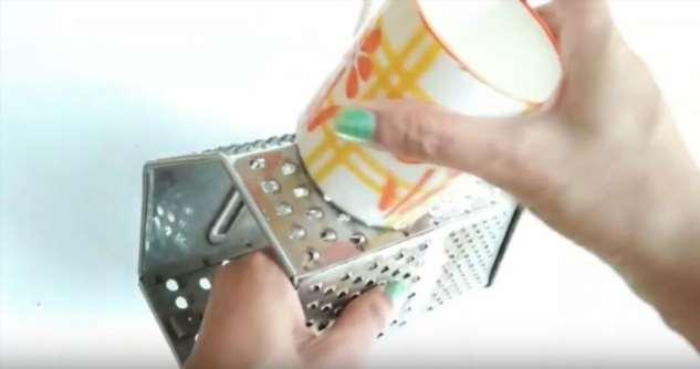Элементарный способ наточить терку (4 фото)