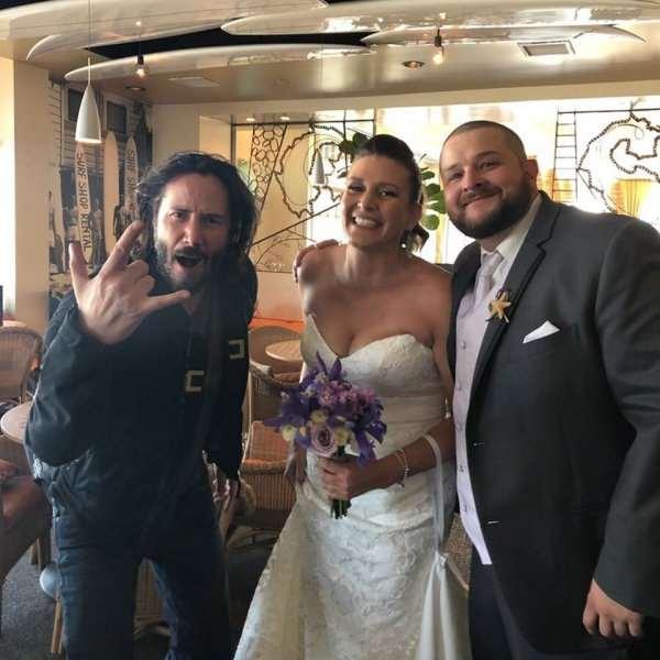 Когда голливудские звезды случайно стали гостями на свадьбе