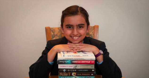 Фрейя Манготра — 10-летняя девочка, у которой IQ выше, чем у Альберта Эйнштейна и Стивена Хокинга (3 фото)