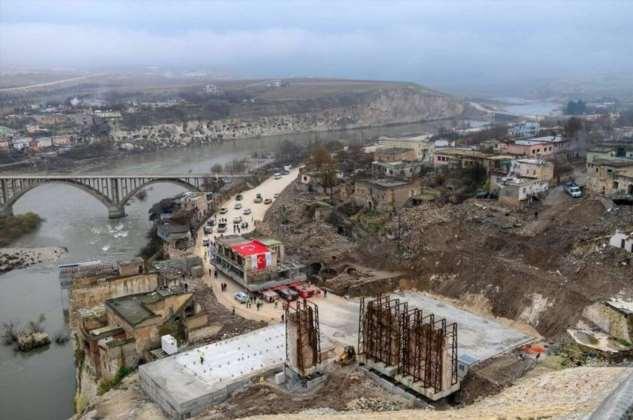 Древний город Хасанкейф будет затоплен
