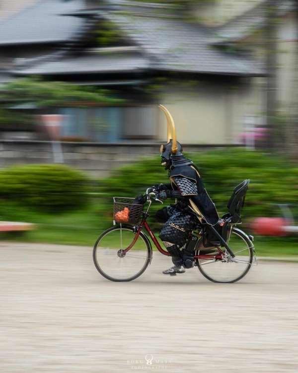 Необычный самурай — путешественник во времени