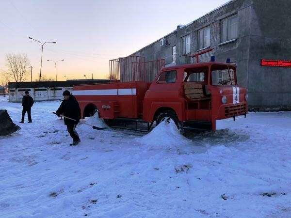 Что делать со старой пожарной машиной?