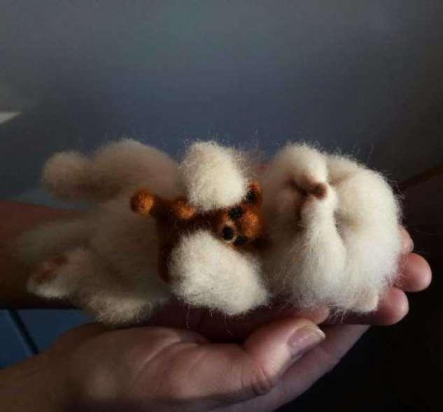 Художница из Сибири создаёт мимимишные игрушки, похожие на оживших зверушек из добрых мультфильмов