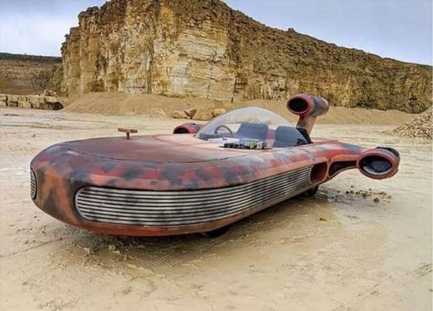 Колин Фёрз построил лэндспидер из «Звездных Войн»