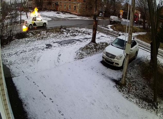 Такси на газовом топливе взорвалось в Егорьевске