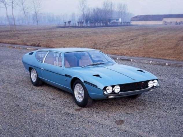 Хот-род, созданный на основе Lamborghini Espada V12 (16 фото)