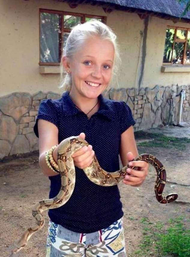 Кристен Керр: девушка предпочла гепардов людям