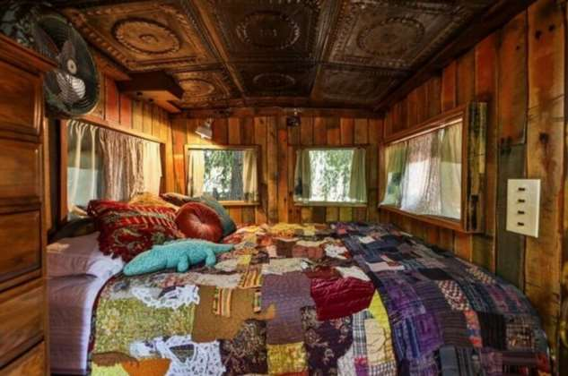 Необычное жилье: стильный дизайн старого вагона