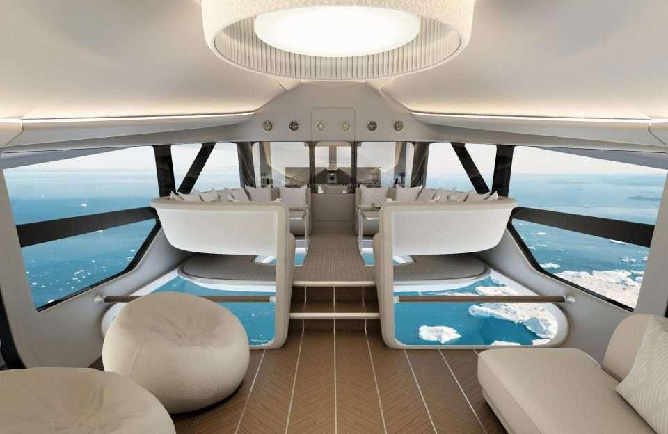 Путешественники скоро смогут летать в роскошных дирижаблях